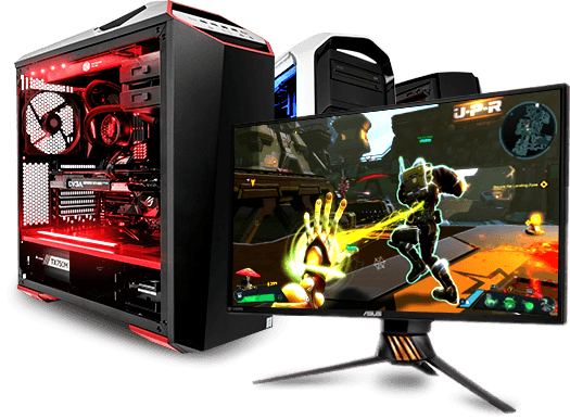 PC de Gaming e Monitor